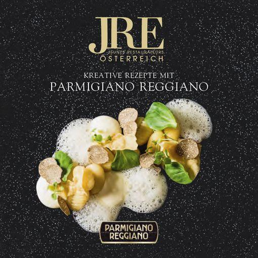 JRE Parmesan Rezept Booklet